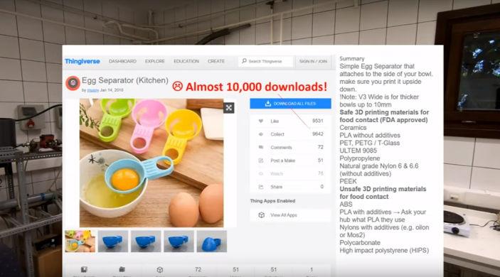 Food safe 3D printing 3DPM