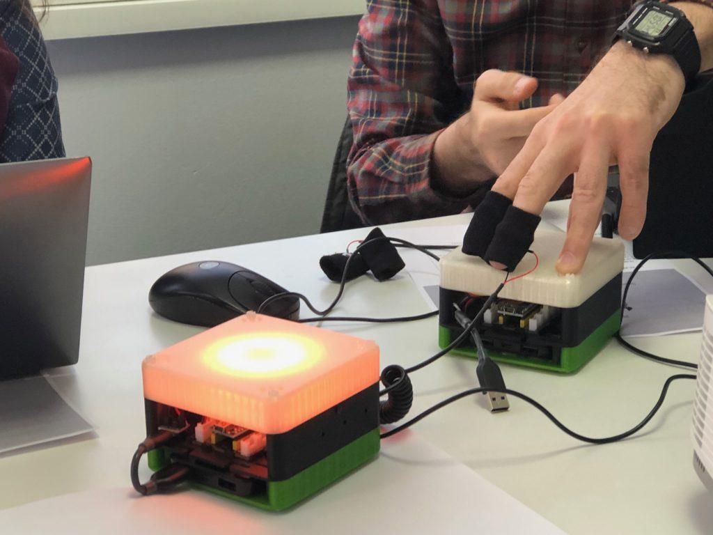 3D printed emotion test